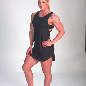 Black Fitness Dress